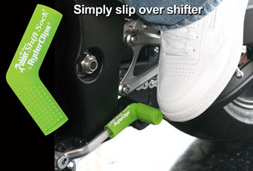 RSS-GREEN Rubber Shift Sock- Green | Rubber Shift Sock