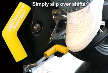 RSS-YELLOW Rubber Shift Sock- Yellow | Rubber Shift Sock