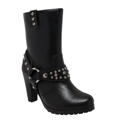 Image 8546 Women's Heeled Boot w/Studs