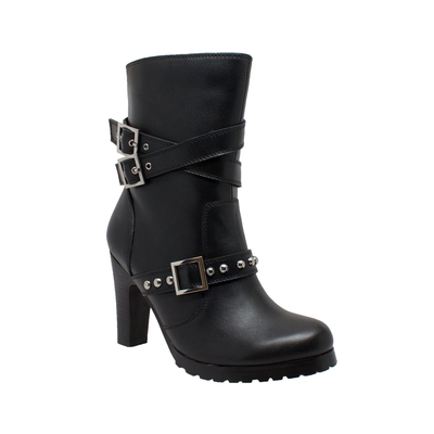 Image 8545 Women's 3-Buckle Boot with Heel