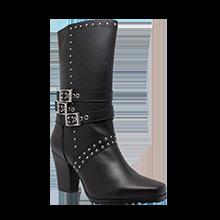 8627 Women's Side Zipper Harness Boot