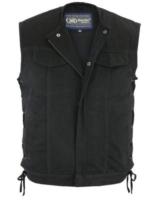 Image DM978 Denim Material, Upgraded Style Gun Pockets, All black construction.
