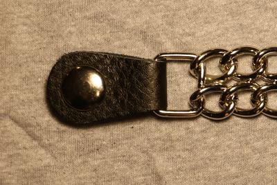 Image J225C Vest Extender Plain Chrome
