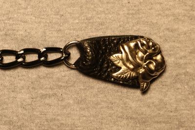 Image J237BK Vest Extender Black Heart