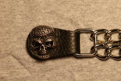 Image J240C Vest Extender Celtic Skull