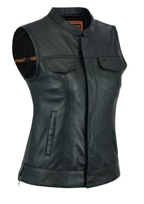DS287 Women's Premium Single Back Panel Concealment Vest
