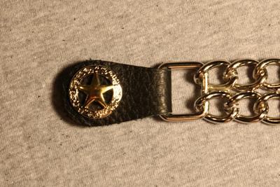Image J239C Vest Extender - Gold-Silver Star