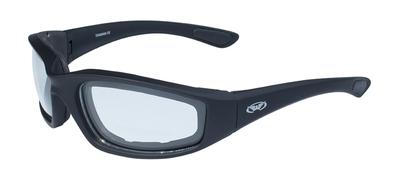 Kickback-CL Kickback Foam Padded Clear Lenses