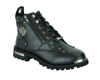 Image DS9730 Men's 6'' Side Zipper Plain Toe Boot