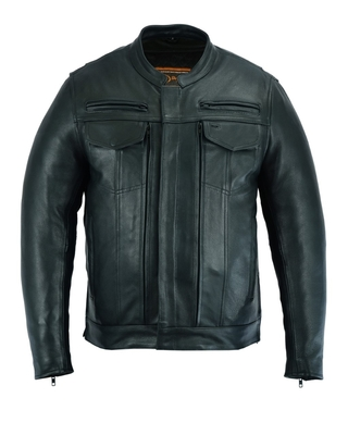 Image DS787 Men's Modern Utility Style Jacket