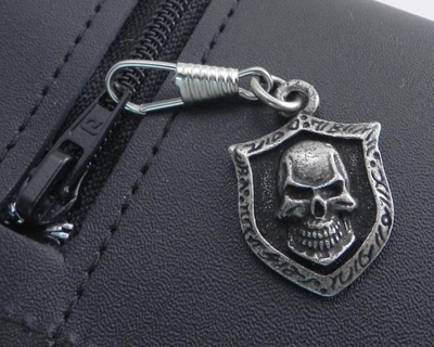 Image Z-SKXL Skull XL Pendent Zipper Pull