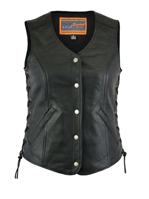 Image DS211 Women's Light Weight Open Neck Vest