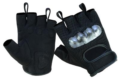 DS19 Sporty Mesh Fingerless Glove