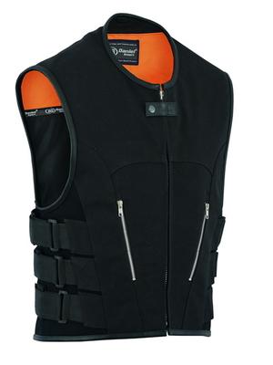 DS006 Men's Updated Canvas SWAT Team Style Vest