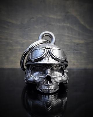 Image BB-30 Motorcycle Helmet Skull Bell