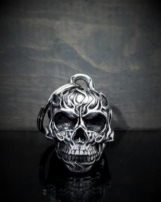 Image BB-53 Flame Skull Bell