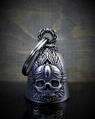 Image BB-65 Mandala Skull Rose Bell