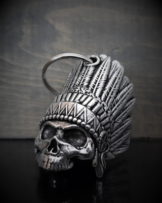 Image BB-69 Indian Skull Bell