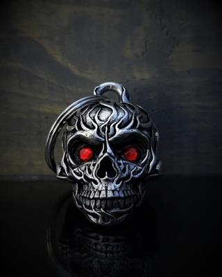 BB-73 Flame Diamond Skull Bell