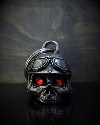 Image BB-76 Motorcycle Helmet Skull Diamond Bell