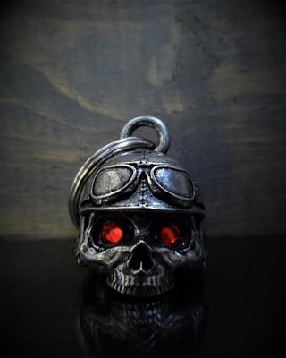 BB-76 Motorcycle Helmet Skull Diamond Bell