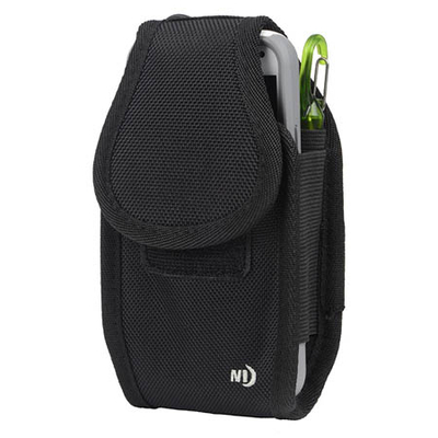 Image CCC2W-01-R3 Clip Case Cargo™ Universal Rugged Holster-Double Wide - Black