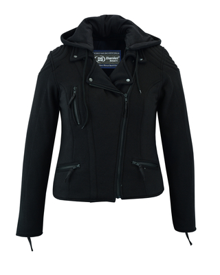Image DS825 Women's Operative Windproof Reinforced Riding Jacket