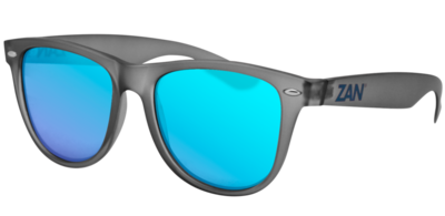 Image EZMT03 Minty Matte Gray Frame, Smoked Blue Mirror Lens
