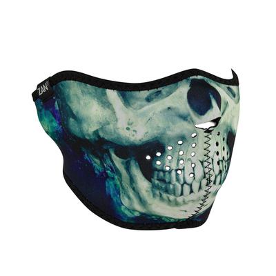 Image WNFM414H Neoprene Half Face Mask, Paint Skull