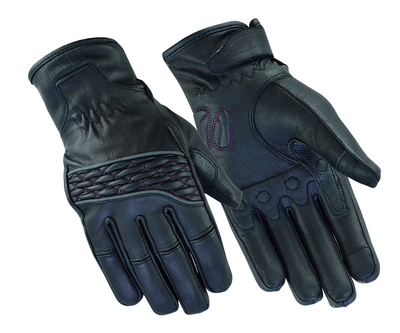 Image DS2425 Women's Cruiser Glove (Black / Purple)