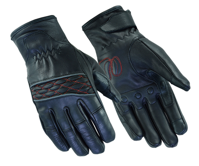 Image DS2426 Women's Cruiser Glove (Black / Red)