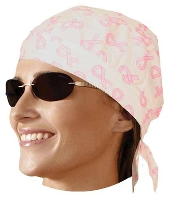 Image HW2681 Headwrap Pink Ribbon