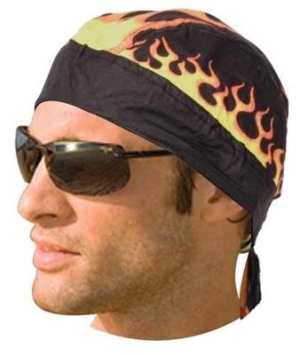 Image HW2684 Headwrap Flames