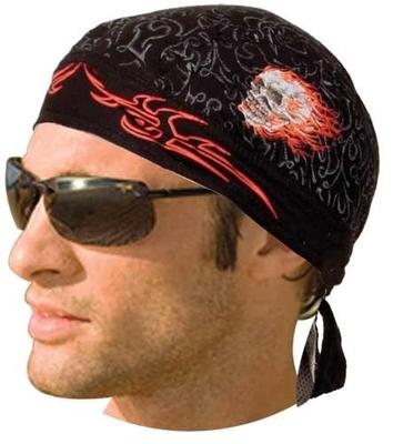 Image HW2676 Headwrap Skull Duggery