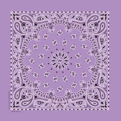 Image NT4405 Bandana Paisley Lavender