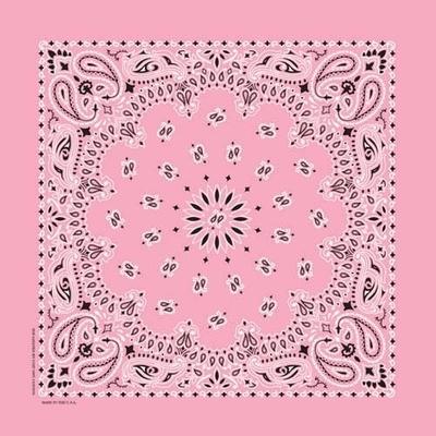 Image NT4408 Bandana Paisley Light Pink