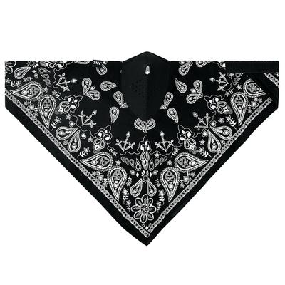 Image WNEO101 NEODANNA Mask- Cotton/Neoprene- Black Paisley