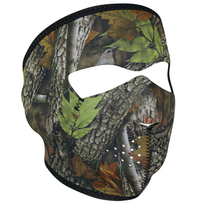 Image WNFM238 ZAN® Full Mask- Neoprene- Forest Camo