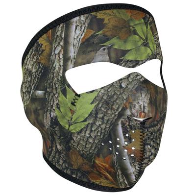 WNFM238 ZAN® Full Mask- Neoprene- Forest Camo