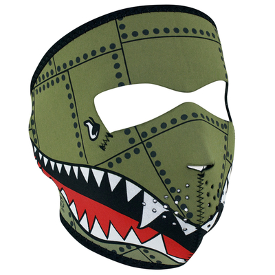 WNFM010 ZAN® Full Mask- Neoprene- Bomber