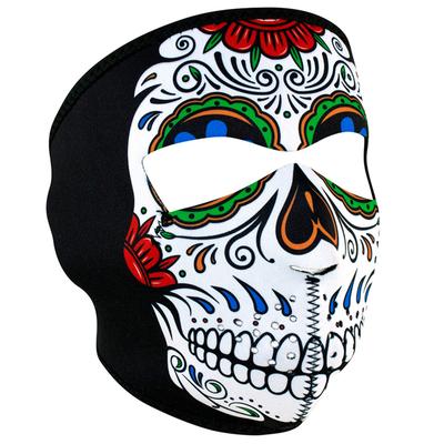 WNFM413 ZAN® Full Mask- Neoprene- Muerte Skull