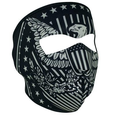 WNFM412 ZAN® Full Mask- Neoprene- Vintage Eagle