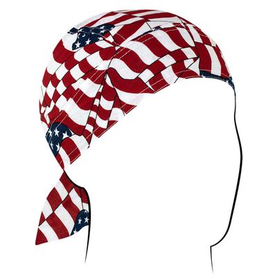 Image Z265 Flydanna®, Cotton, Wavy American Flag