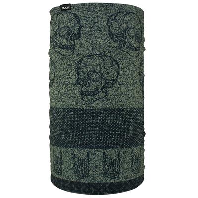 Image TF123 Motley Tube® Fleece Lined- Skull Fairisle