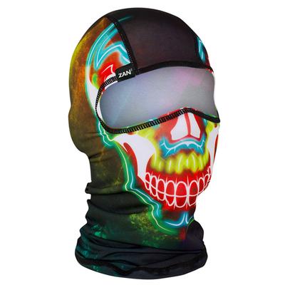 WBP098 Balaclava Polyester- Electric Skull