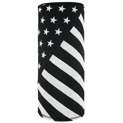 TL091 Motley Tube®, SportFlex™ Series- Black & White Flag