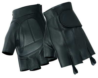 DS96 Men's Tough Deer Skin Fingerless Glove