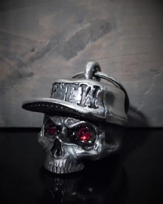 BB-107 FTW Skull Hat Diamond Bell