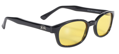 Image 20112 KD's Blk Frame/Yellow Lens