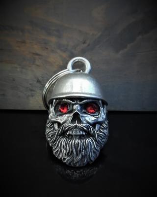 BB-110 Helmet Skull Biker Diamond Bell